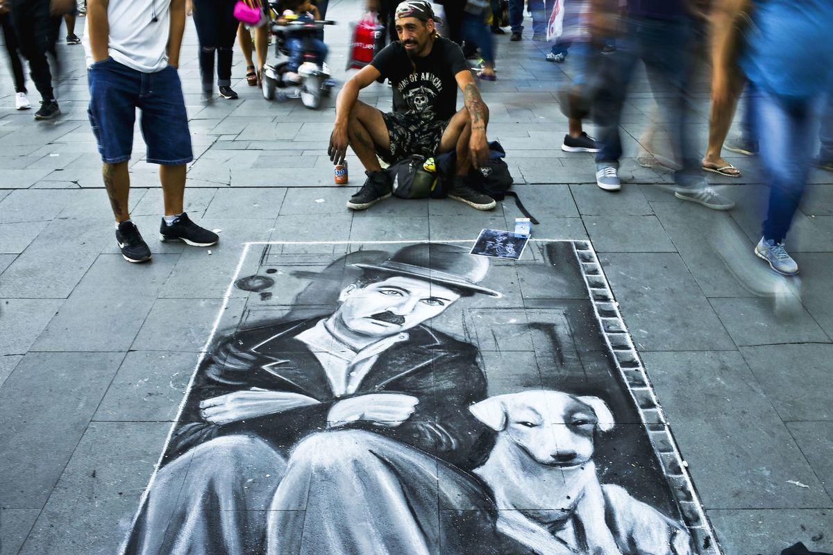 Čile, Charlie Chaplin,