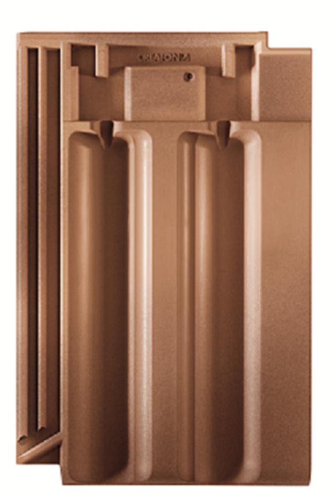 Dvojitá falcovaná škridla RAPIDO spája tradíciu a techniku do kvalitnej keramickej strešnej krytiny.