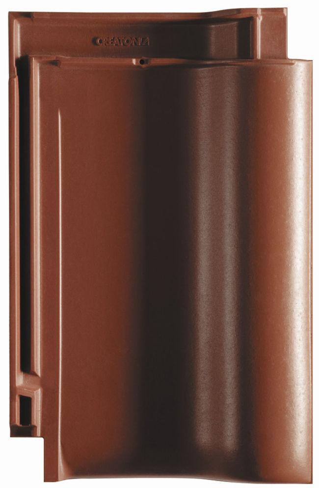 Veľkoformátová keramická škridla BALANCE patrí medzi najobľúbenejšie modely keramickej krytiny CREATON u nás.