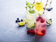 limonáda, voda, nápoj, tekutiny, pitný režim