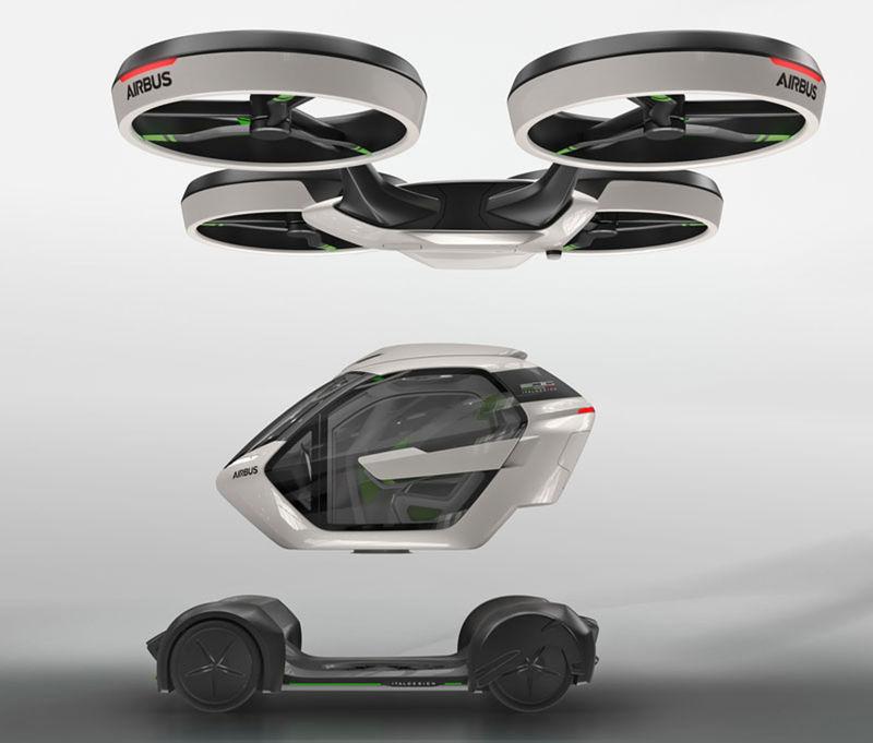 Modulárna konštrukcia umožňuje vytvoroť z Pop.Up-u auto alebo kvadrokoptéru.