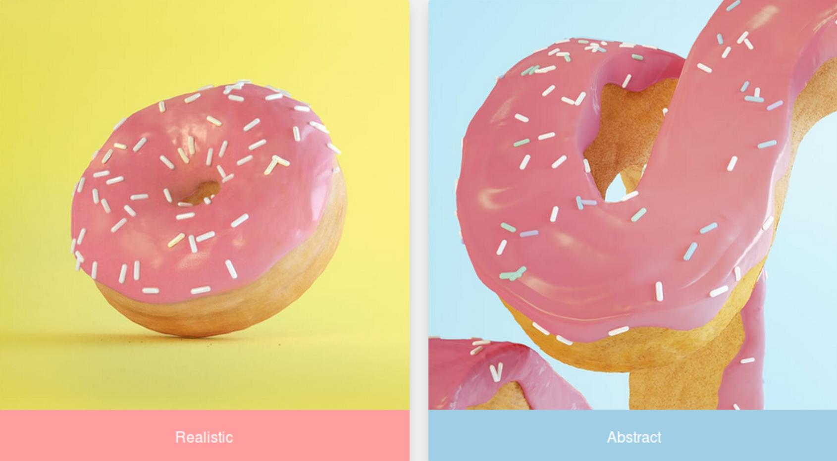 Máte radi realistické alebo abstraktné objekty?