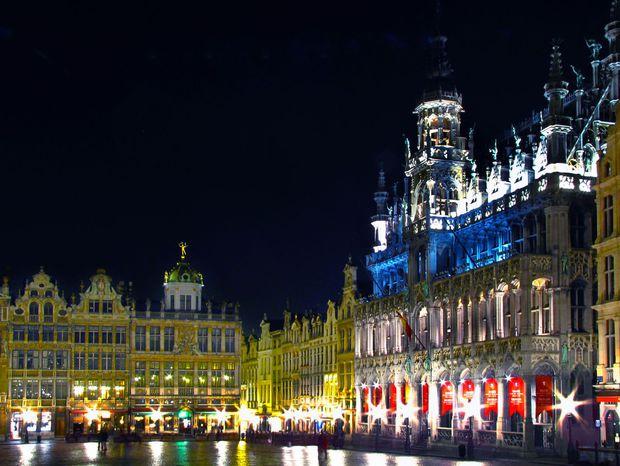 Hlavné námestie v Bruseli.