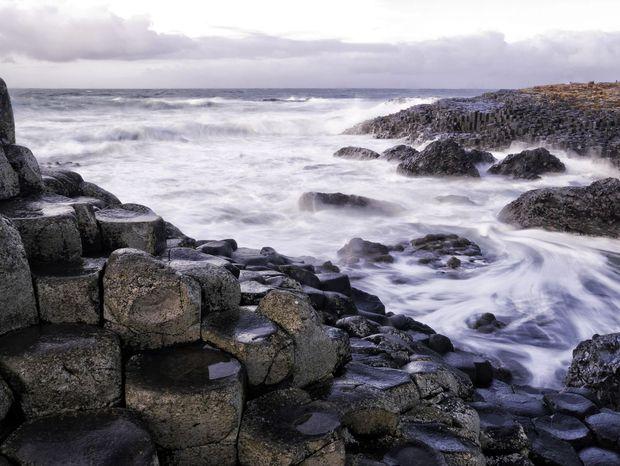 Obrov chodník v Severnom Írsku.