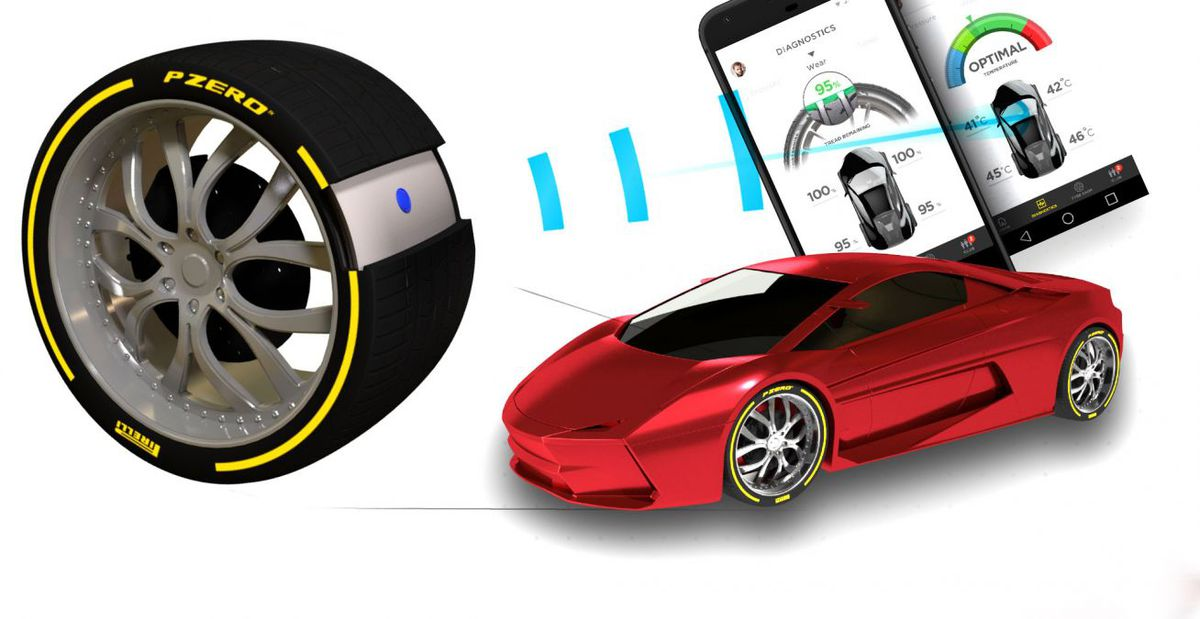Systém vás dokonca môže navigovať k predajcovi pneumatík alebo privolať pomoc v prípade defektu.