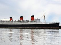 Queen Mary, loď, parník, more