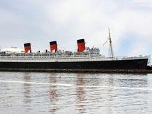 Queen Mary, loď, parník, more