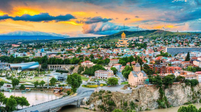 9802061ebde88 Turisti objavujú Tbilisi, Trip Advisor ho zaradil medzi top 10 miest sveta  s potenciálom - Mestá - Cestovanie - Pravda.sk