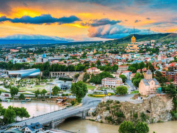 Tbilisi, Gruzínsko, mesto