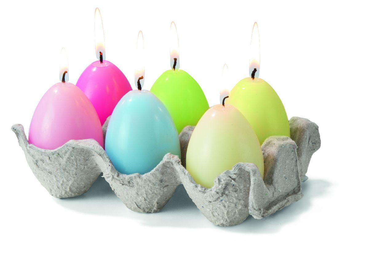 Aj v takomto popierovom stojane vyzerajú farebné vajíčka skvelo, navyše ide o originálnu dekoráciu. KIK