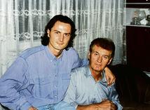 Viliam Dubovský so synom Petrom.