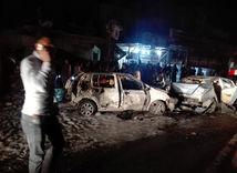 Bagdad, výbuch, bomba, auto