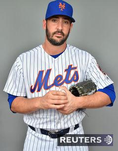 Hráč tímu New York Mets Matt Harvey.
