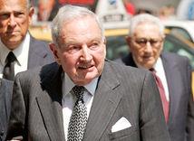 David Rockefeller dedil miliardy po starom otcovi