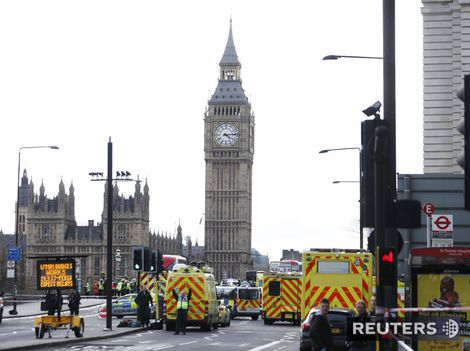 Teroristický útok v Londýne si vyžiadal štyroch mŕtvych a 20 zranených