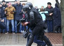 Bielorusko, minsk, protest