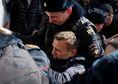 navaľný, rusko, protest