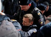 V Rusku sa začali demonštrácie, Navaľného zatkli