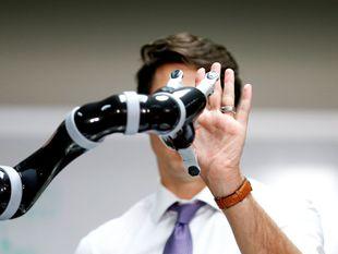 Kanada, Justin Trudeau, robot,