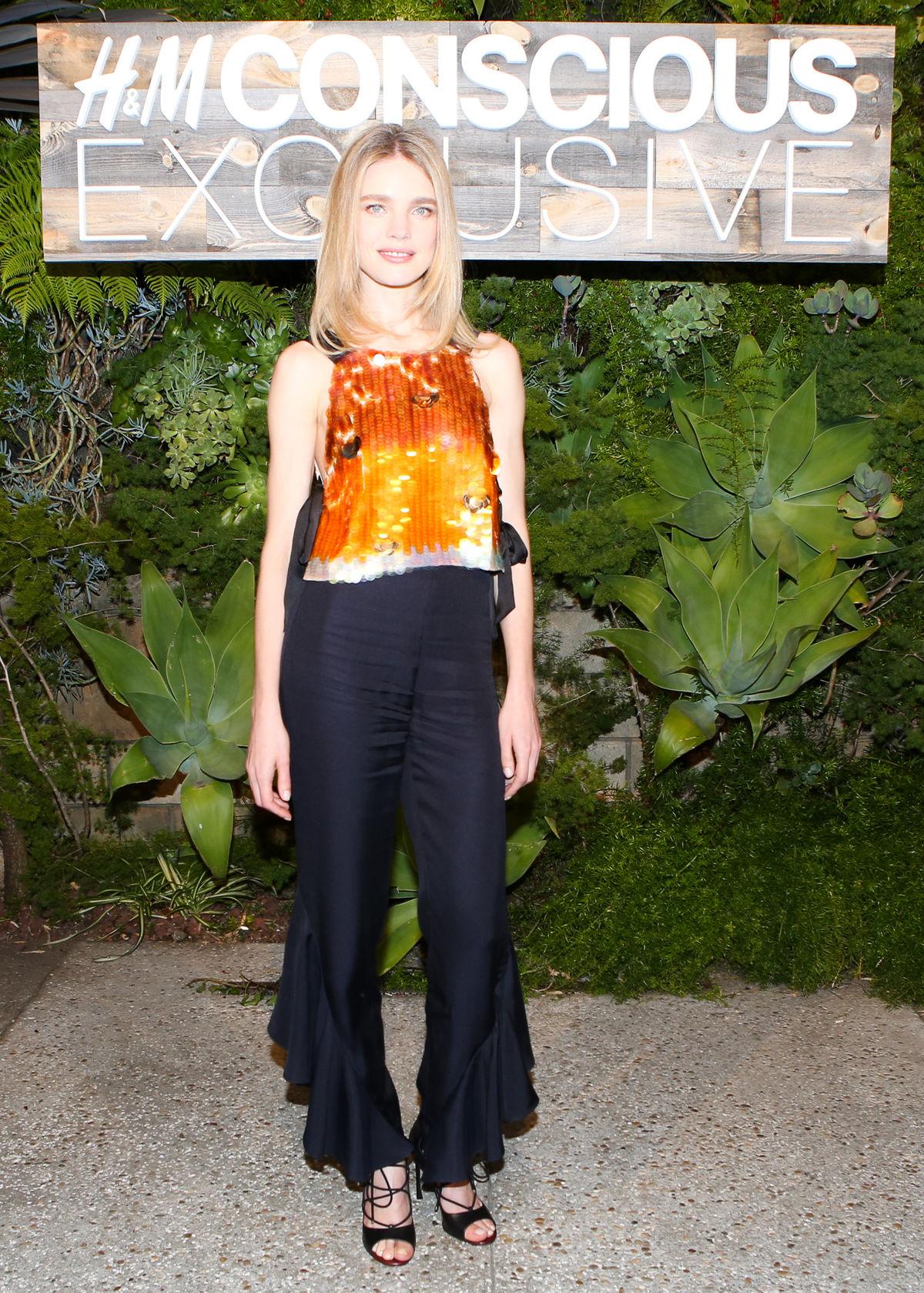 Topmodelka Natalia Vodianova sa stala tvárou kampane na limitovanú kolekciu H&M Conscious Exclusive.