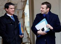 Valls, Macron