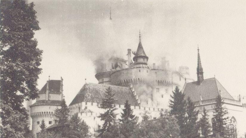 d39041041 Bojnický zámok pred 67 rokmi takmer ľahol popolom - Domáce - Správy ...