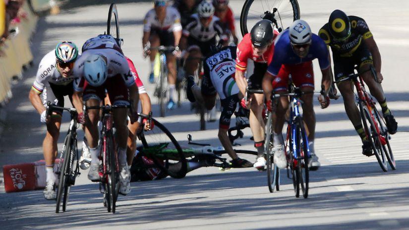 e8e1197929668 Obrovský šok! Petra Sagana vylúčili z Tour de France - Cyklistika ...
