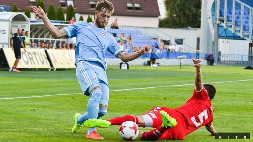 fb3bda24086a4 Zbytočne sme stratili dva body. Takto sa hrať nedá, znie z kabíny Slovana -  Fortuna liga - Futbal - Šport - Pravda.sk