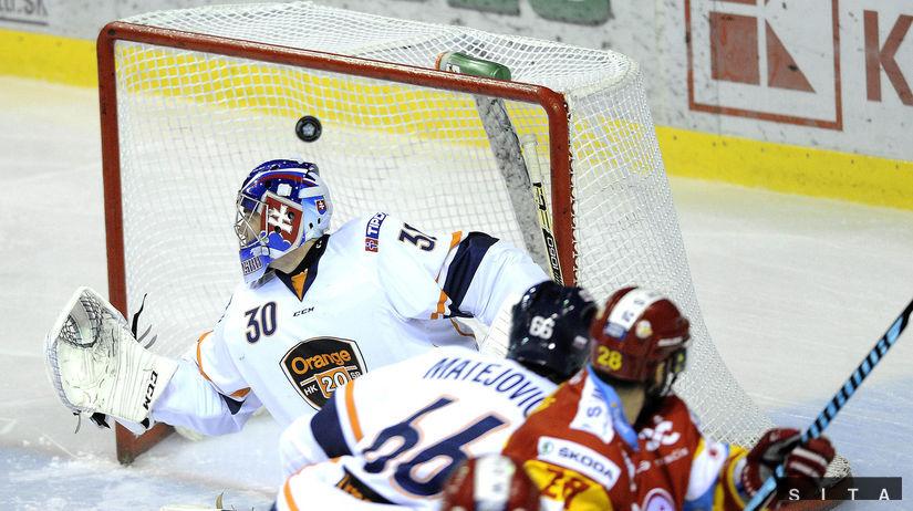 ca7687a275330 Výsledok podľa predpokladov. Dukla zdolala mladíkov na nulu - Extraliga -  Hokej - Šport - Pravda.sk