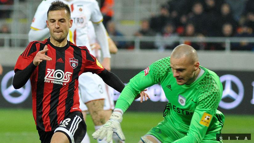 d9abb788ad Trnava je jesenný víťaz. Na zápase s Nitrou bolo najmenej divákov v  histórii ligy - Fortuna liga - Futbal - Šport - Pravda.sk