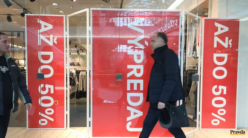 e07fb7ee73dd Obchodníci spustili povianočné výpredaje - Ekonomika - Správy - Pravda.sk