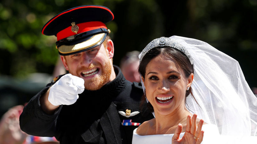 dfd1372198f5 Princ Harry a Meghan Markle sú už manželmi - Hviezdne kauzy ...
