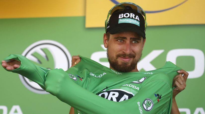 f6f46e67e4668 Peter Sagan si udržal zelený dres aj po nedeľňajšej 9. etape. Autor:  SITA/AP, Christophe Ena. Pred štartom Tour de France ...