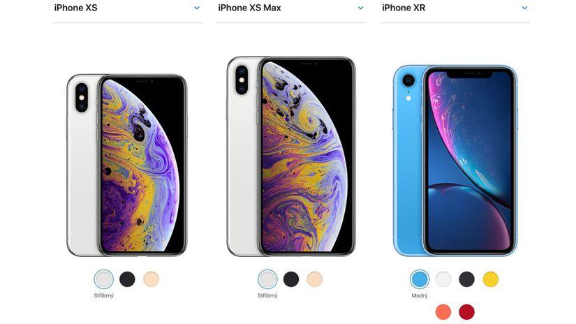 Výsledek obrázku pro iphone xr xs