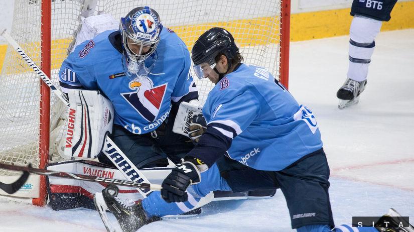 Desaťgólová prestrelka. Slovan padol v Podoľsku - KHL - Hokej - Šport -  Pravda.sk 31ff3149f39