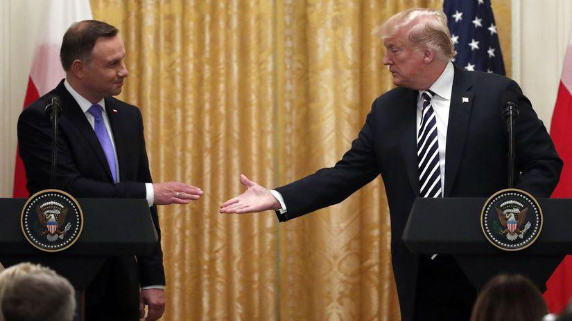 Poľský prezident čelí kritike pre fotografiu z Trumpovho konta na Twitteri  - Svet - Správy - Pravda.sk cbe8b56d362