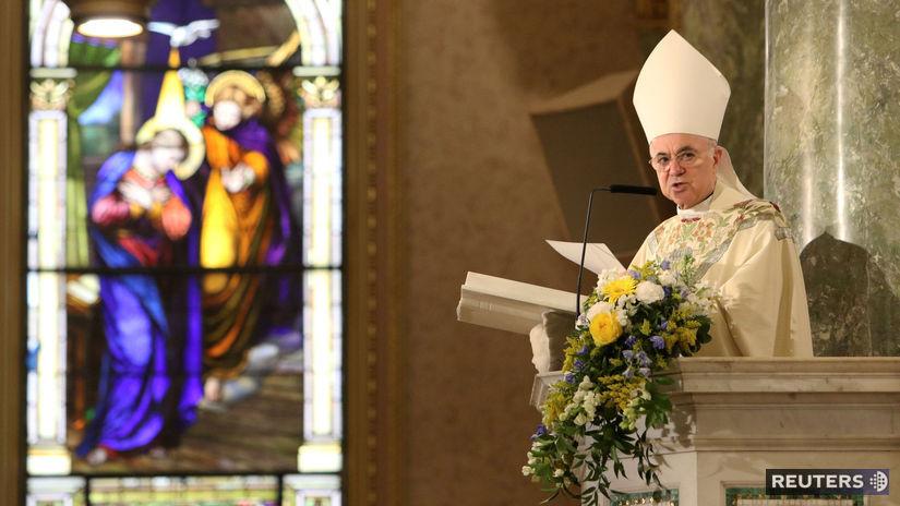 Arcibiskup Vigano žiada Vatikán, aby prestal mlčať o McCarrickovi - Svet - Správy - Pravda.sk