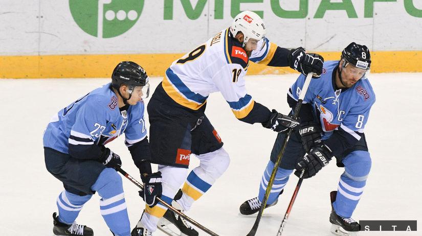 f3df6a7dc8ea0 Bojovný výkon Slovanu nestačil. Siedmu sezónu v KHL ukončil 47. prehrou -  KHL - Hokej - Šport - Pravda.sk