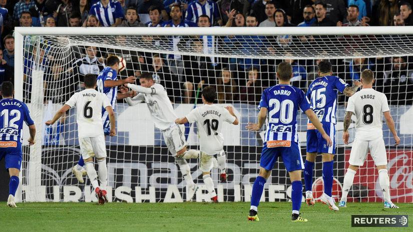 102cf7499ec7d Real neskóroval už 409 minút, ide o najdlhšiu sériu od roku 1985 - Zahraničné  ligy - Futbal - Šport - Pravda.sk