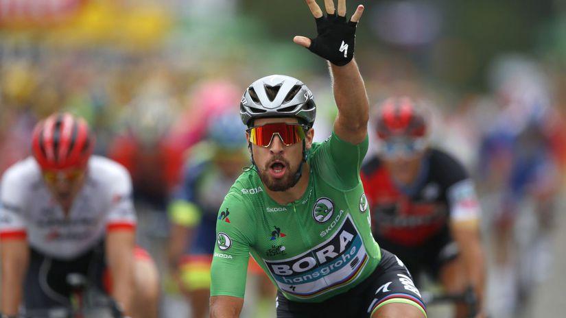 22855a06c9 Zelený Sagan môže vstúpiť do histórie - Cyklistika - Šport - Pravda.sk