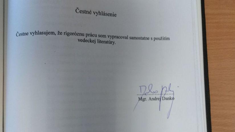 Poslanec Dostál navrhol zákon o verejnej správe podľa Dankovej rigorózky - Domáce - Správy - Pravda.sk