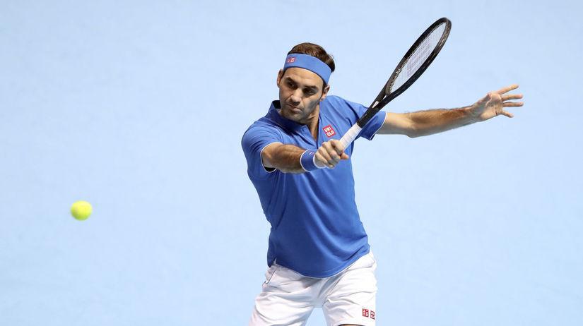 9f3b0676293 Federer si poradil s Andersonom. Do semifinále postúpili obaja - Tenis -  Šport - Pravda.sk