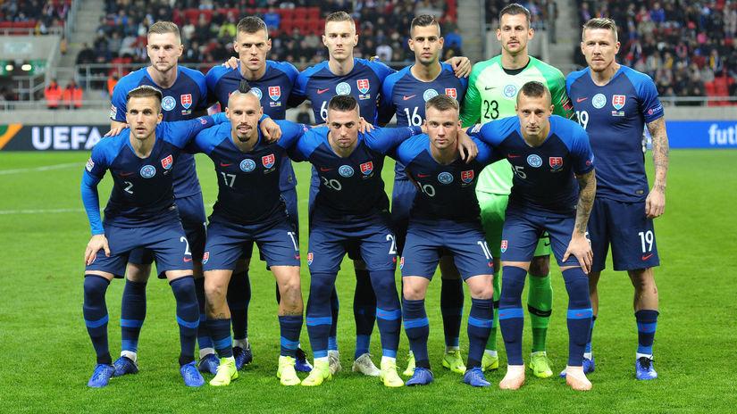 9b5ced750b43e Slováci zvalcovali Ukrajinu. Dali jej štyri góly, množstvo ďalších ...