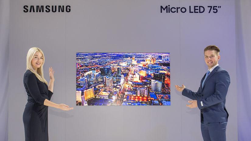 26528b734c Namiesto OLED Samsung predstavil modulárny Micro LED televízor - Obraz a  zvuk - Veda a technika - Pravda.sk