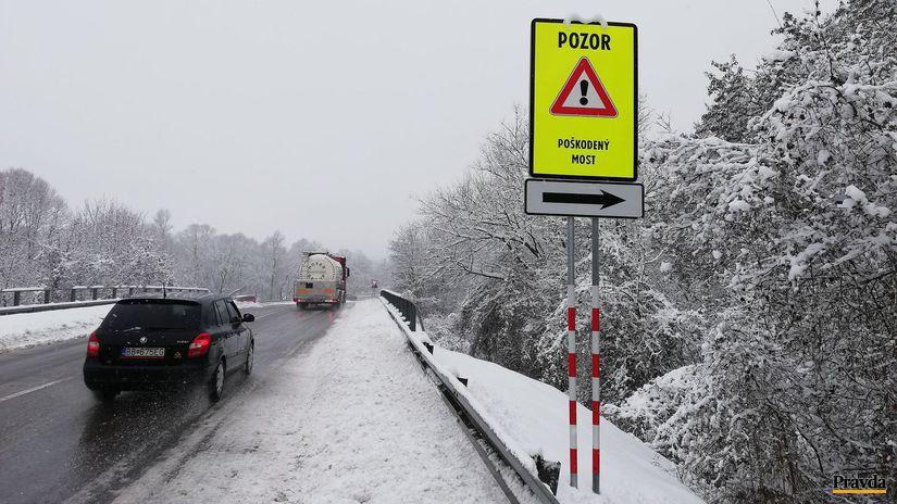 Šoférom na strednom Slovensku hrozí 200-kilometrová obchádzka ... ce285c7e97d