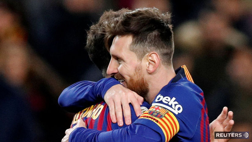 ec6e68f190706 Barcelona zničila Sevillu, Messi zaujal veľkým gestom - Zahraničné ligy -  Futbal - Šport - Pravda.sk