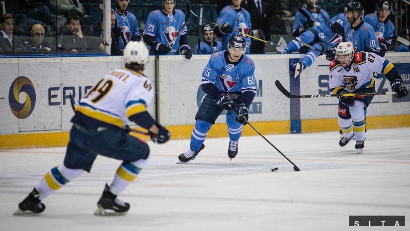773028fcfa9e2 Slovan prerušil sériu prehier a zdolal Soči, v predĺžení rozhodol Sukeľ -  KHL - Hokej - Šport - Pravda.sk
