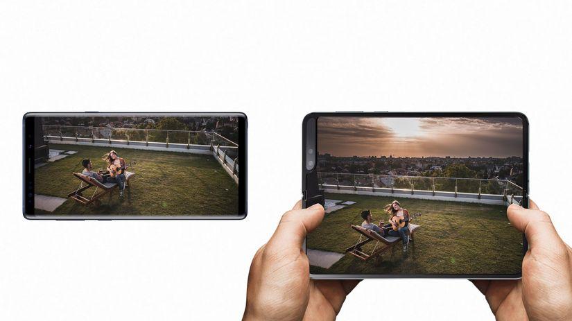 0a10eb9e6 Začal sa rok prvých skladacích telefónov. Samsung ukázal ako budú ...