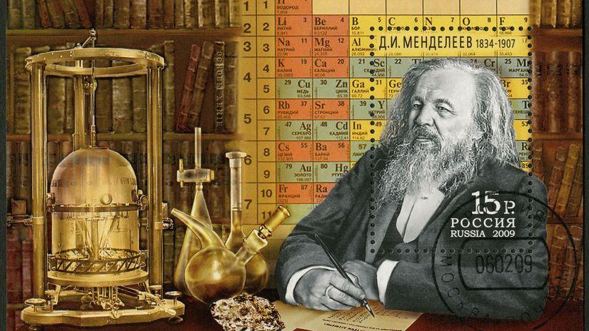 Mendelejevovi vraj pomohol pri zoraďovaní prvkov pasians - Človek - Veda a  technika - Pravda.sk