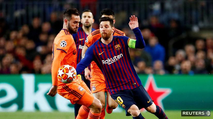 10fd3df091273 Messi a spol. vyprášili Lyon. Liverpool vybojoval postup cez Bayern - Liga  majstrov - Futbal - Šport - Pravda.sk
